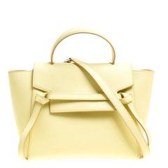 Celine Citrine Leather Belt Bag
