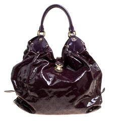Louis Vuitton Flamme Mahina Patent Leather Limited Edition Surya XL Bag