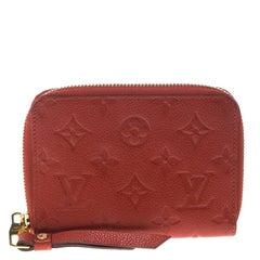 Louis Vuitton Orient Monogram Empreinte Leather Compact Wallet