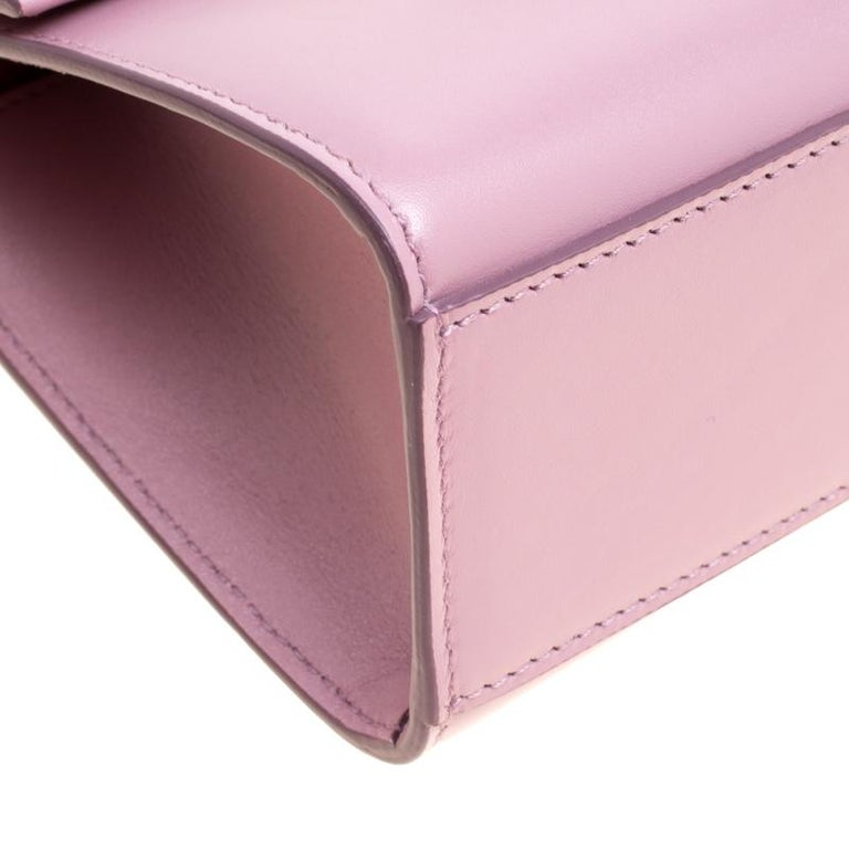 a362a2db9b Dolce and Gabbana Bubble Gum Pink Leather Lucia Shoulder Bag In New  Condition For Sale In