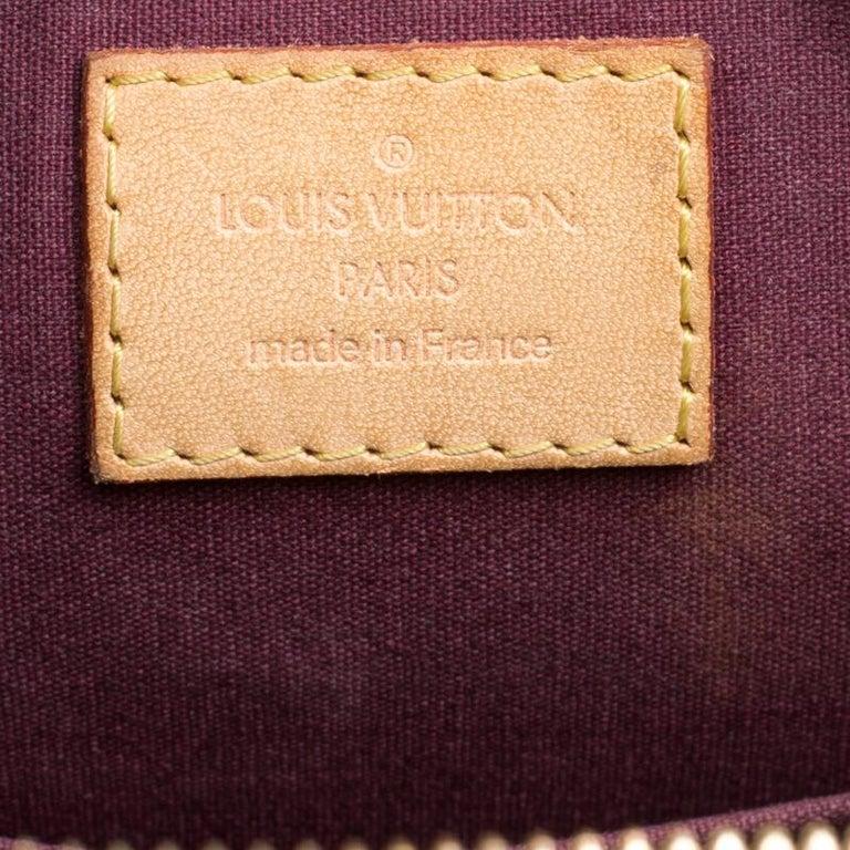 c48f47f316c9 Women s Louis Vuitton Rouge Fauviste Monogram Vernis Alma PM Bag For Sale
