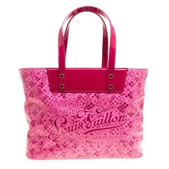 Louis Vuitton Pink Leather Limited Edition Cosmic Blossom PM Bag