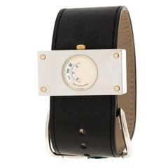 Balenciaga Cream Stainless Steel Limited Edition 922/1000 Women's Wristwatch 45