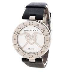 Bvlgari MOP Stainless Steel B.Zero1 Women's Wristwatch 35MM