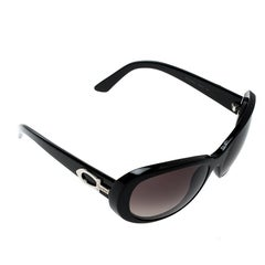 Cartier Black/ Black Gradient Cat Eye Sunglasses