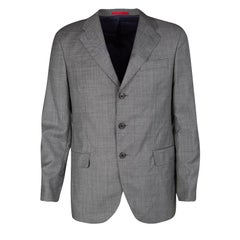 CH Carolina Herrera Grey Wool Suit M