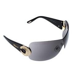 Chopard Black SCH 939S Shield Sunglasses
