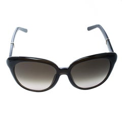 Chloe Brown/Brown Gradient CE648S Butterfly Sunglasses