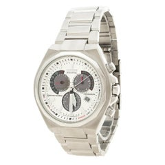 Citizen Silver White Stainless Steel Eco Drive Stainless Steel Men's Wristwatch