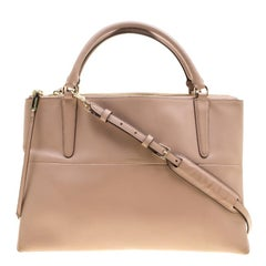 Coach Dusty Pink Leather Satchel
