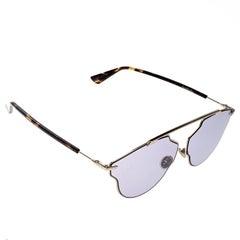 Dior Gold/Purple 06JU1 So Real Pop Round Sunglasses