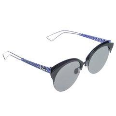 Dior Blue/Black G5V2K Diorama Club Sunglasses