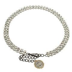 Dolce and Gabbana Crystal Embellished Waist Belt 90 CM