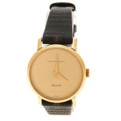 Girard Perregaux Gold Plated Vintage Women's Wristwatch 27 mm