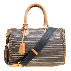 Louis Vuitton Argent Monogram Canvas and Leather Limited Edition Eden Speedy 30
