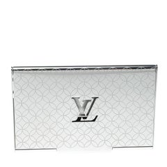 Louis Vuitton Champs-Elysées Laser Engraved Monogram Flower Card Holder