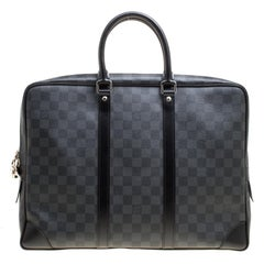 Louis Vuitton Damier Graphite Canvas Porte Documents Voyage Briefcase