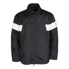 Moncler Monochrome Nylon Zip Front Jacket XXL