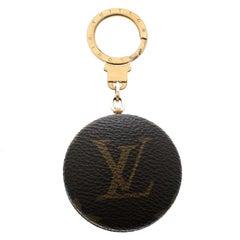 Louis Vuitton Monogram Canvas Round Key Chain