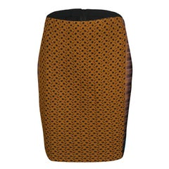 Missoni Multicolor Textured Knit Pencil Skirt M