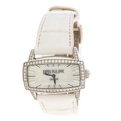 Patek Philippe White Mother of Pearl 18K White Gold And Diamonds Gondolo Gemma 4