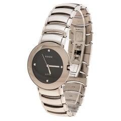 Rado Black Stainless Diastar Jubile 115.00625.3 Men's Wristwatch 30 mm