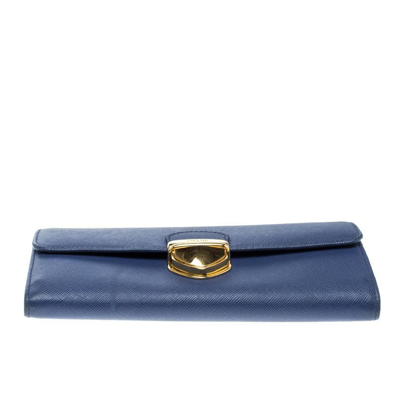 05f5e2a17cd1 discount prada blue wallet 59d48 7bb3e