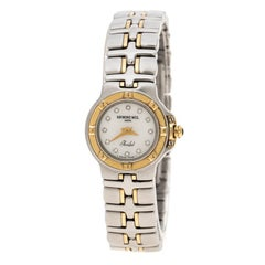 Raymond Weil White Mother of Pearl Stainless Steel Parsifal 9690/1 Women's Wrist