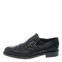 Salvatore Ferragamo Black Cord Embroidered Velvet Knee Boots Size 37