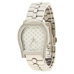 Aigner White Stainless Steel A02100 Men's Wristwatch 33MM