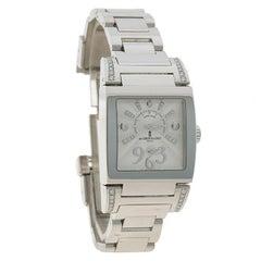 De Grisogono White Stainless Steel & Diamond Instrumentino Women's Wristwatch