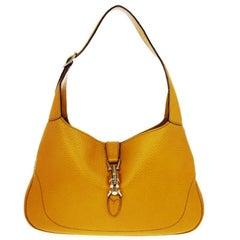 Gucci Mustard Medium Jackie O Shoulder Bag
