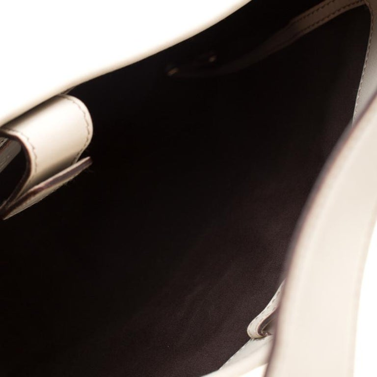 Gucci Cream Guccissima Leather Medium Jackie Hobo Bag For Sale 5