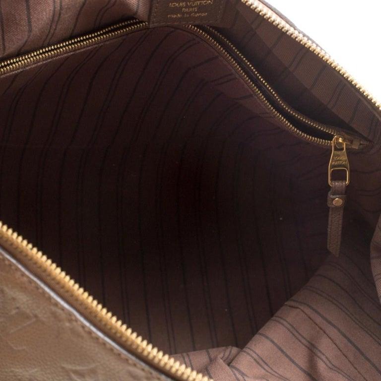 Louis Vuitton Ombre Monogram Empreinte Leather Lumineuse PM Bag For Sale 4