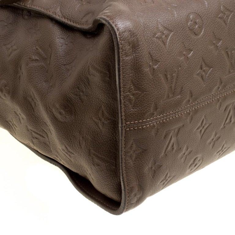 Louis Vuitton Ombre Monogram Empreinte Leather Lumineuse PM Bag For Sale 6