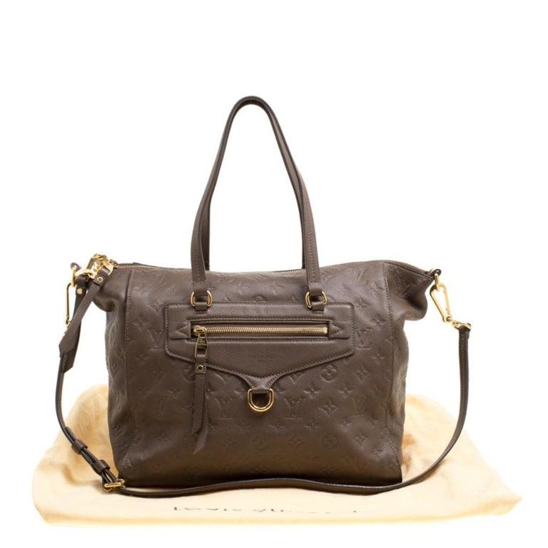 Louis Vuitton Ombre Monogram Empreinte Leather Lumineuse PM Bag For Sale 8
