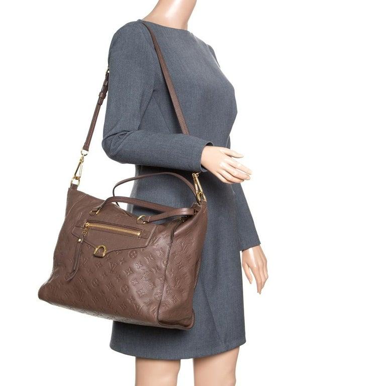 Louis Vuitton Ombre Monogram Empreinte Leather Lumineuse PM Bag In Good Condition For Sale In Dubai, Al Qouz 2