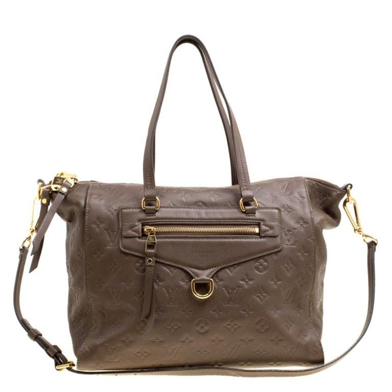Louis Vuitton Ombre Monogram Empreinte Leather Lumineuse PM Bag For Sale