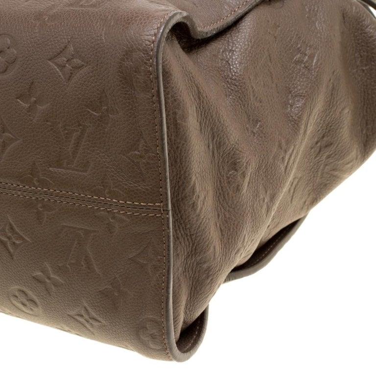 Louis Vuitton Ombre Monogram Empreinte Leather Lumineuse PM Bag For Sale 5