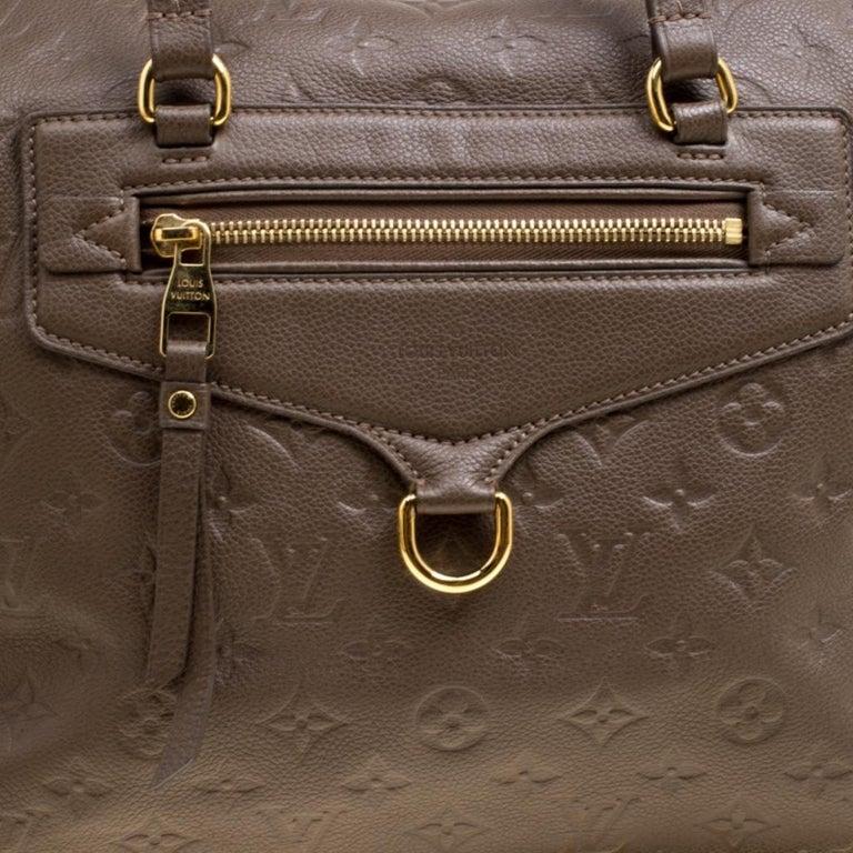 Louis Vuitton Ombre Monogram Empreinte Leather Lumineuse PM Bag For Sale 7