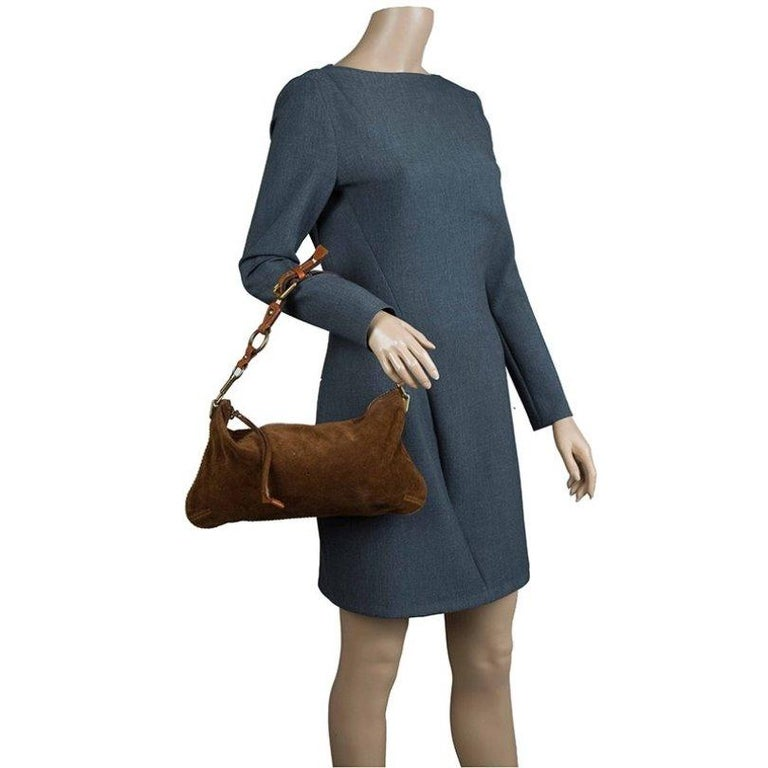 Louis Vuitton Moka Monogram Limited Edition Onatah Pochette For Sale 1