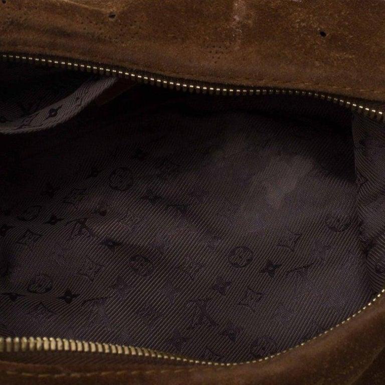 Louis Vuitton Moka Monogram Limited Edition Onatah Pochette For Sale 2