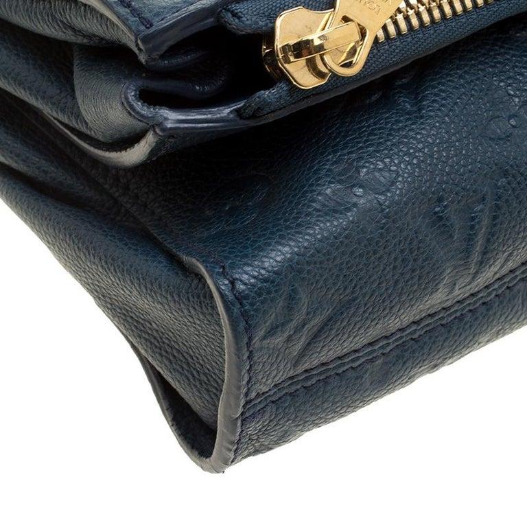 2cc9daa75756 Louis Vuitton Orage Monogram Empreinte Leather Petillante Clutch For Sale 2