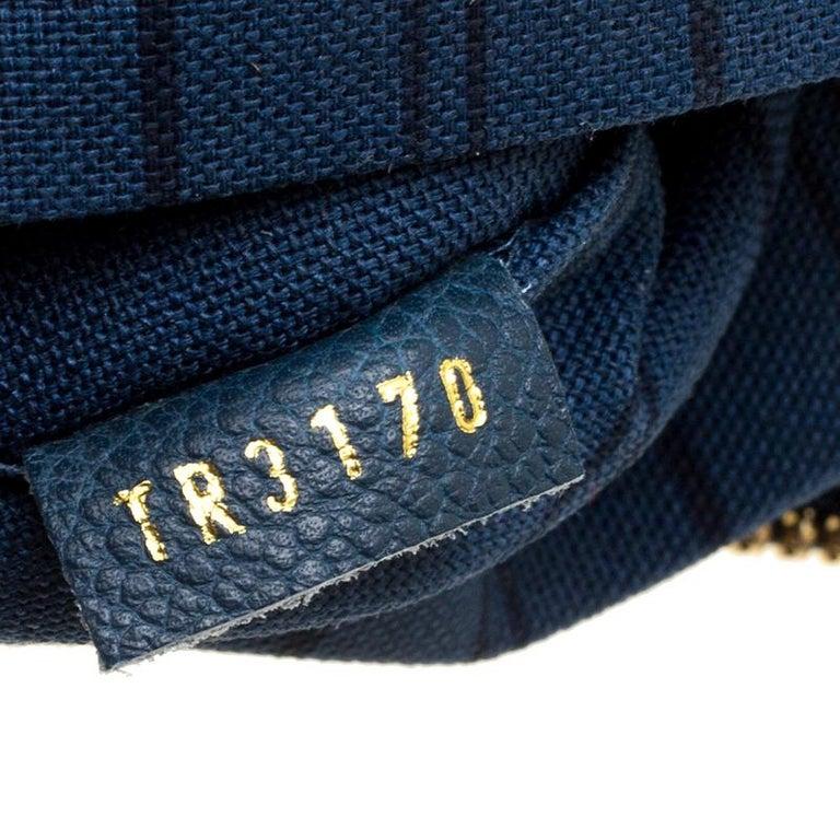 1608ad55a085 Louis Vuitton Orage Monogram Empreinte Leather Petillante Clutch For Sale 4