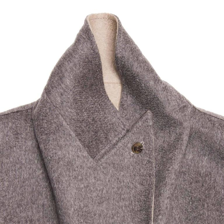 Hermès Cashmere Belted Coat In New never worn Condition For Sale In Brooklyn, NY