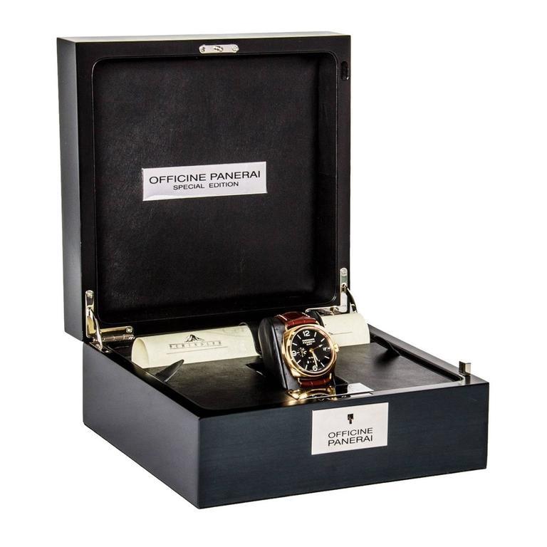 Officine Panerai Special Series Rose Gold Watch 2