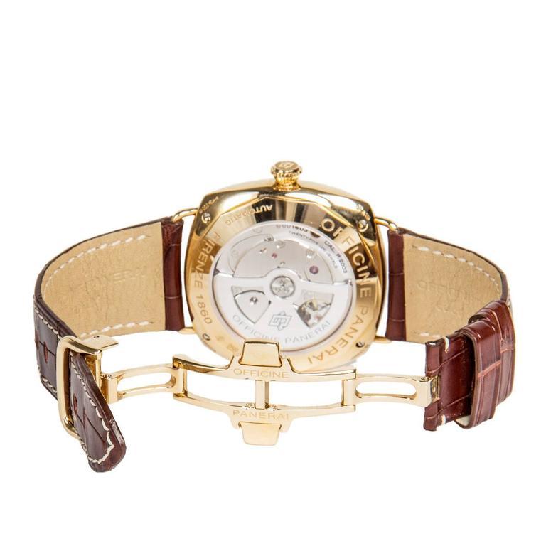 Officine Panerai Special Series Rose Gold Watch 4