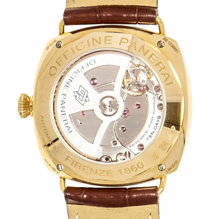 Officine Panerai Special Series Rose Gold Watch 5