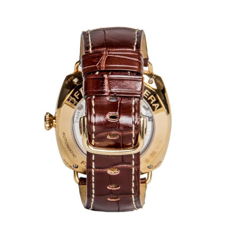 Officine Panerai Special Series Rose Gold Watch 3