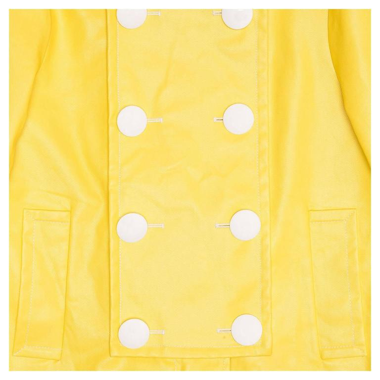 Women's Phillip Lim Bright Yellow Sailor Slicker For Sale
